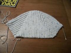 Pixie Hat - halfway done