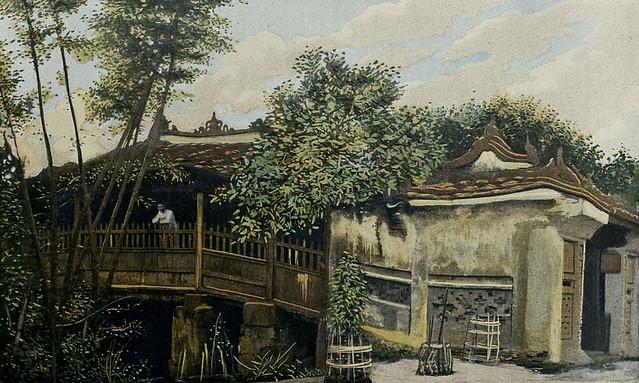 Annam - Le Pont japonais à FaiFo - Photos prises entre 1903