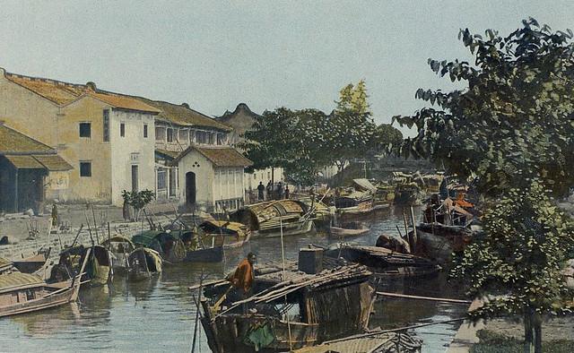 1903 Cochinchine 1903 - Cholon, canaux intérieurs