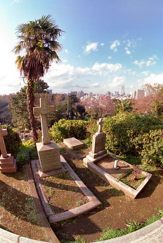 Yokohama Foreign General Cemetery.