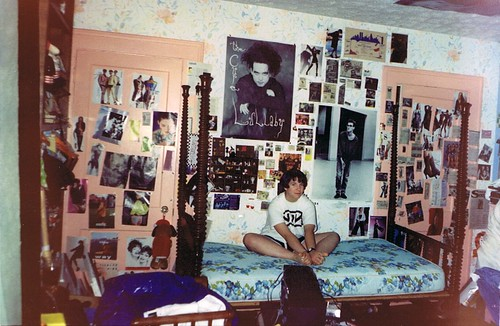 My room in high school