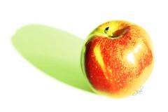 manzana verde(0.0), plant(0.0), produce(0.0), fruit(1.0), food(1.0), granny smith(1.0), apple(1.0),