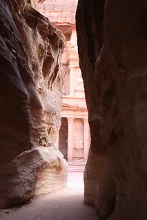 Petra, Siq, the Treasury