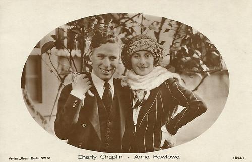 Charlie Chaplin, Anna Pavlova