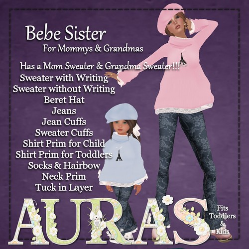Bebe Sister - For Moms & Grandmas Ad by Aura Milev
