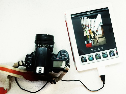 Digital Darkroom: DSLR + Snapseed