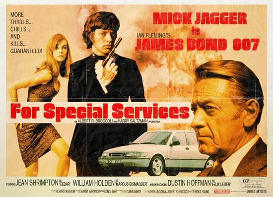 Cinema em um mundo paralelo - 007 James bond