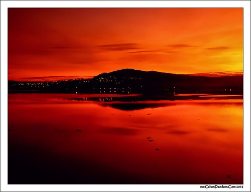 Inverness at dusk by ccgd