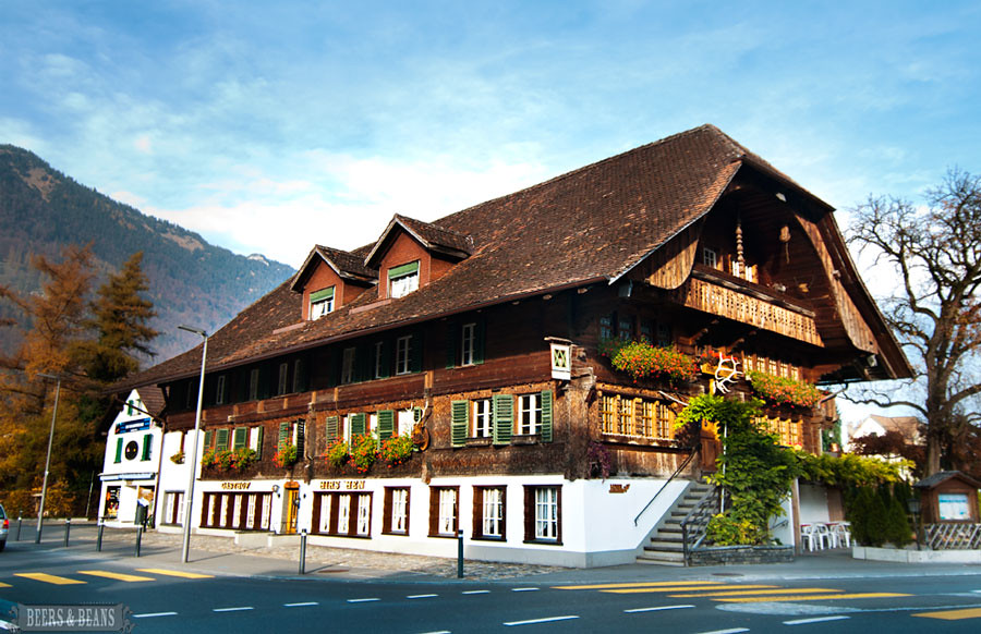 Landgasthof Hirschen Hotel in Interlaken Switzerland