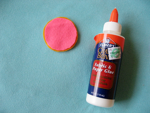 here's the glue I used