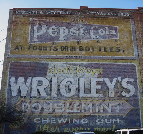 Ghost Sign - Durham, NC