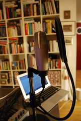 Podcast equipment Maktministeriet