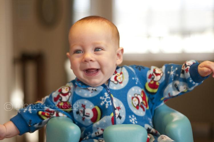 Oliver @ 4 months