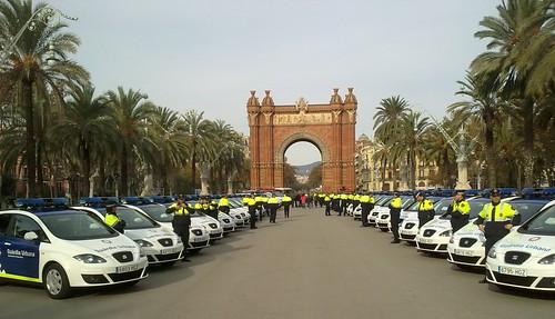 Adasa facilita la localización de vehículos de la Guardia Urbana y Bomberos de Barcelona