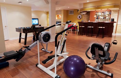 Gym Finished Basement