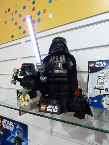 UK Toy Fair 2012 - Darth Vader Desk Lamp