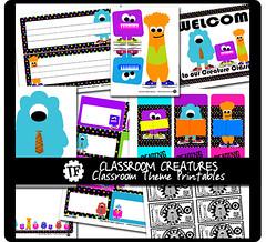 Classroom Creatures Classroom Theme