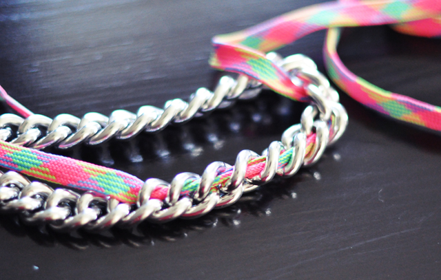 neon chain necklace diy-3