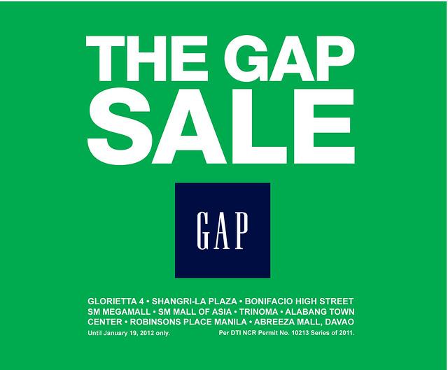 Gap year end sale