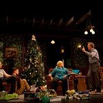 Lee Tergesen (Woodrow Horvath), Karl Baker Olsen (Donald Horvath), Roberta Wallach (Margaret Horvath), Larry Pine (Mathew Horvath), and Katie Kreisler (Roanne Horvath) in the world premiere production of Bob Glaudini's VENGEANCE IS THE LORD'S at the Huntington, directed by Peter DuBois, Nov. 12 — Dec. 12, 2010 at the Avenue of the Arts / BU Theatre.Part of the Shirley, VT Plays Festival. Photo: T. Charles Erickson