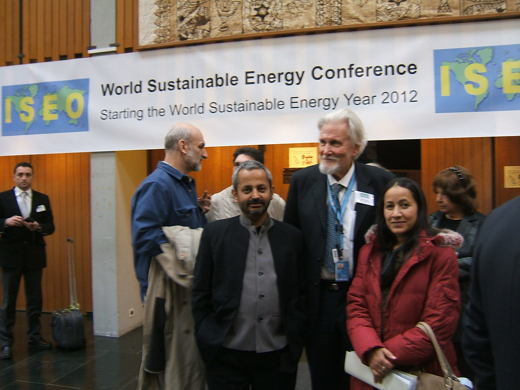 """Agneyodgara  to GEOCOGEN"" Dr Arya at  World Sustainable Energy Conference  2012"