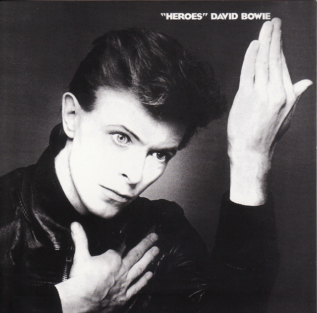 David Bowie - Heroes (album cover 1977)