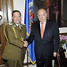 Secretary General Meets with Attaché from Carabineros of Chile