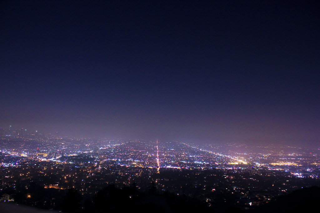 View from the Observatory in Glendale, California  | Flickr