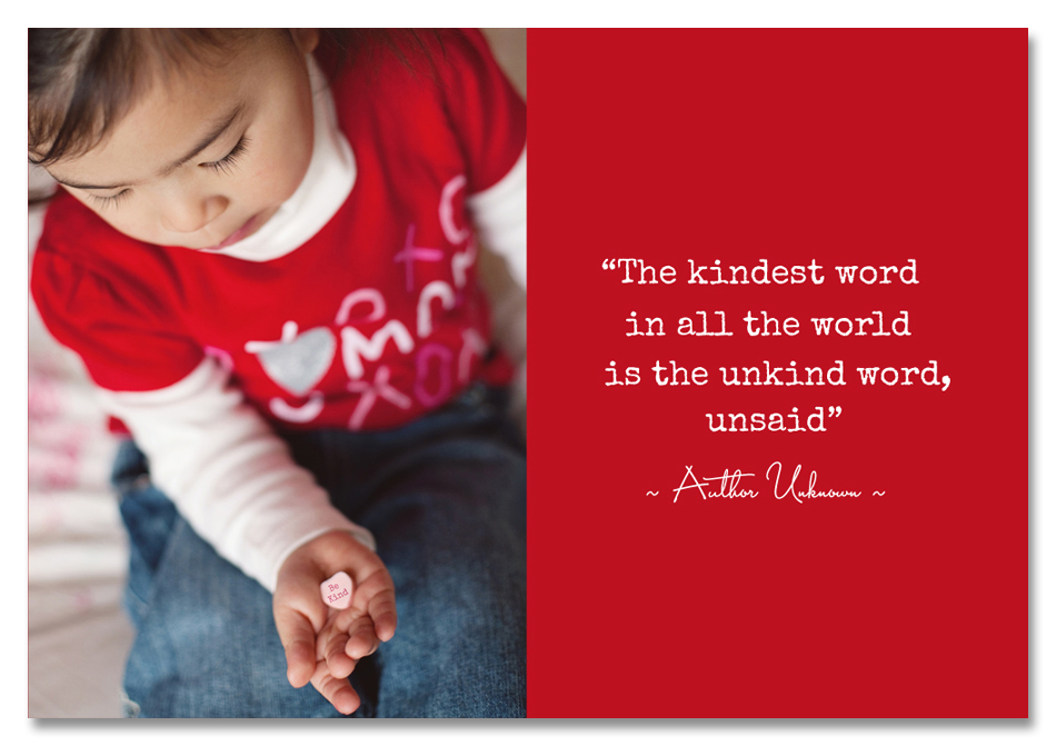 The kindest word quote