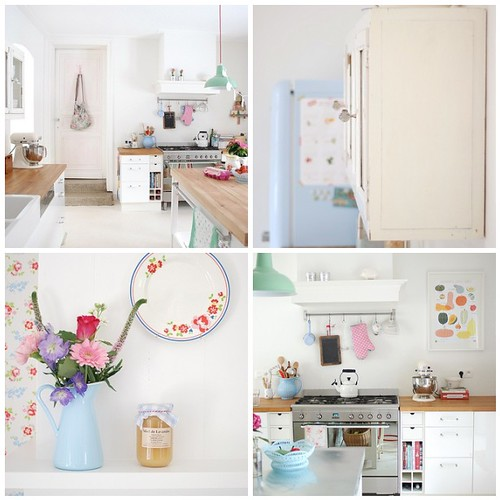 Yvestown's pretty kitchen