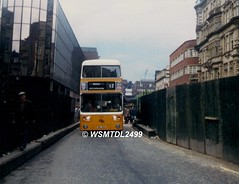 210  VNL 210V  Leyland Atlantean  MCW. NEWCASTLE UPON TYNE