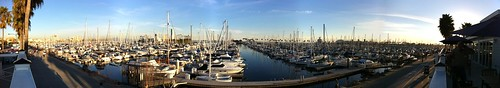 Long Beach Marina by aghrivaine