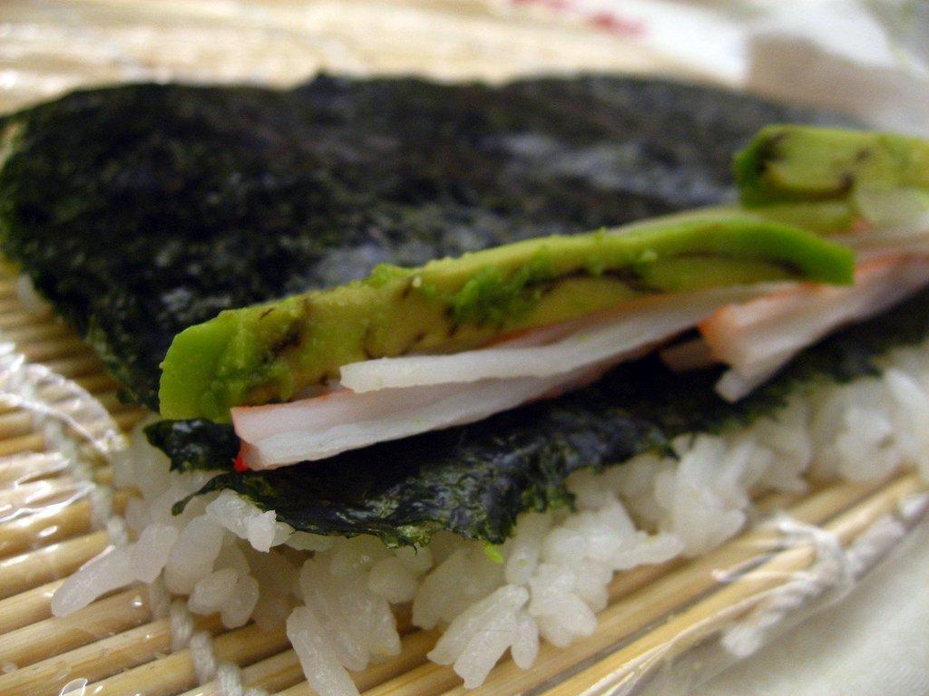 Sushi Class - california roll