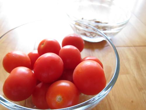 Day 29.  Fresh tomato sauce.