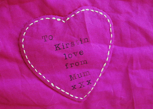 label for dead simple quilt