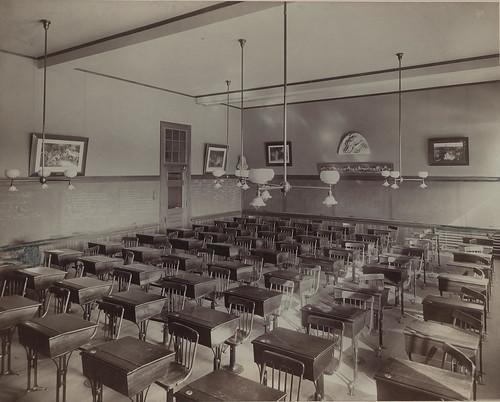 Classroom, ca. 1901