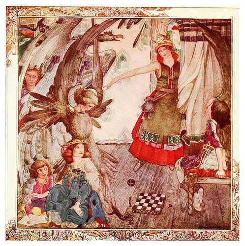018-La transformacion de los niños-Polish fairy tales 1920-Cecile Walton