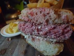 Lamb Burger (cross section)