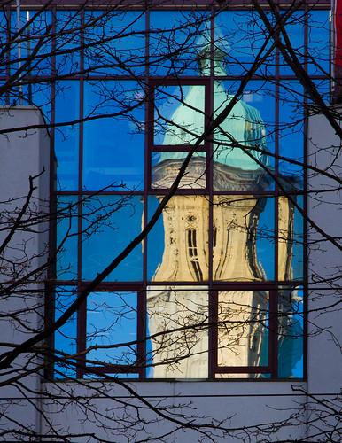 Andreaskirche im Spiegel