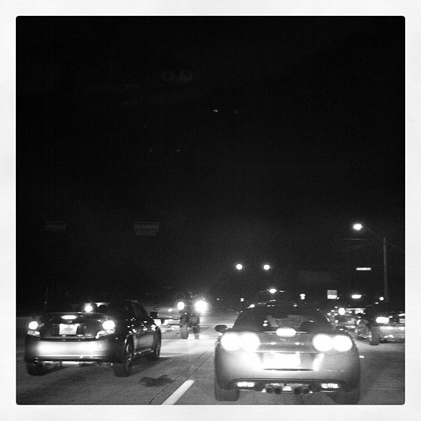 Can't live in this city if you can't handle #traffic! #febphotoaday #strangers #redlights