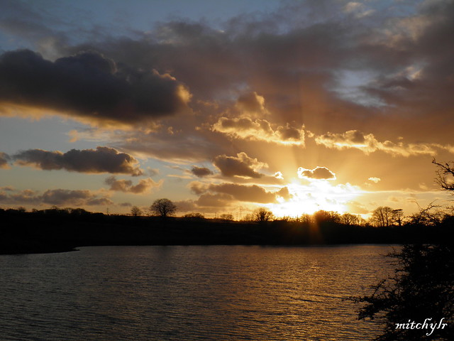 Carew Sunset 3