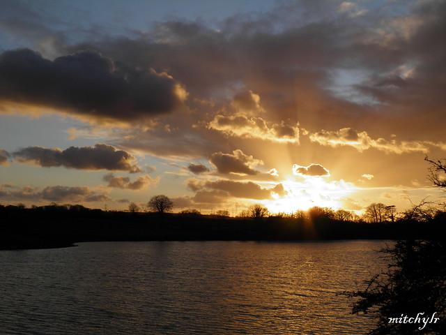 Carew Sunset 3
