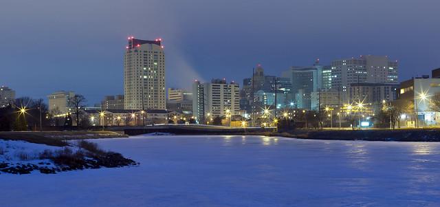 Rochester Skyline at Dawn