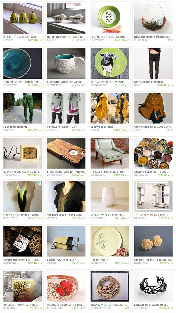 Etsy Picks Feb 2012