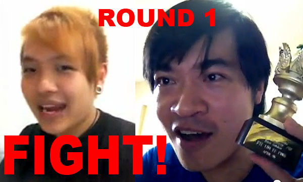 Steven Lim vs Aaron Tan gets serious