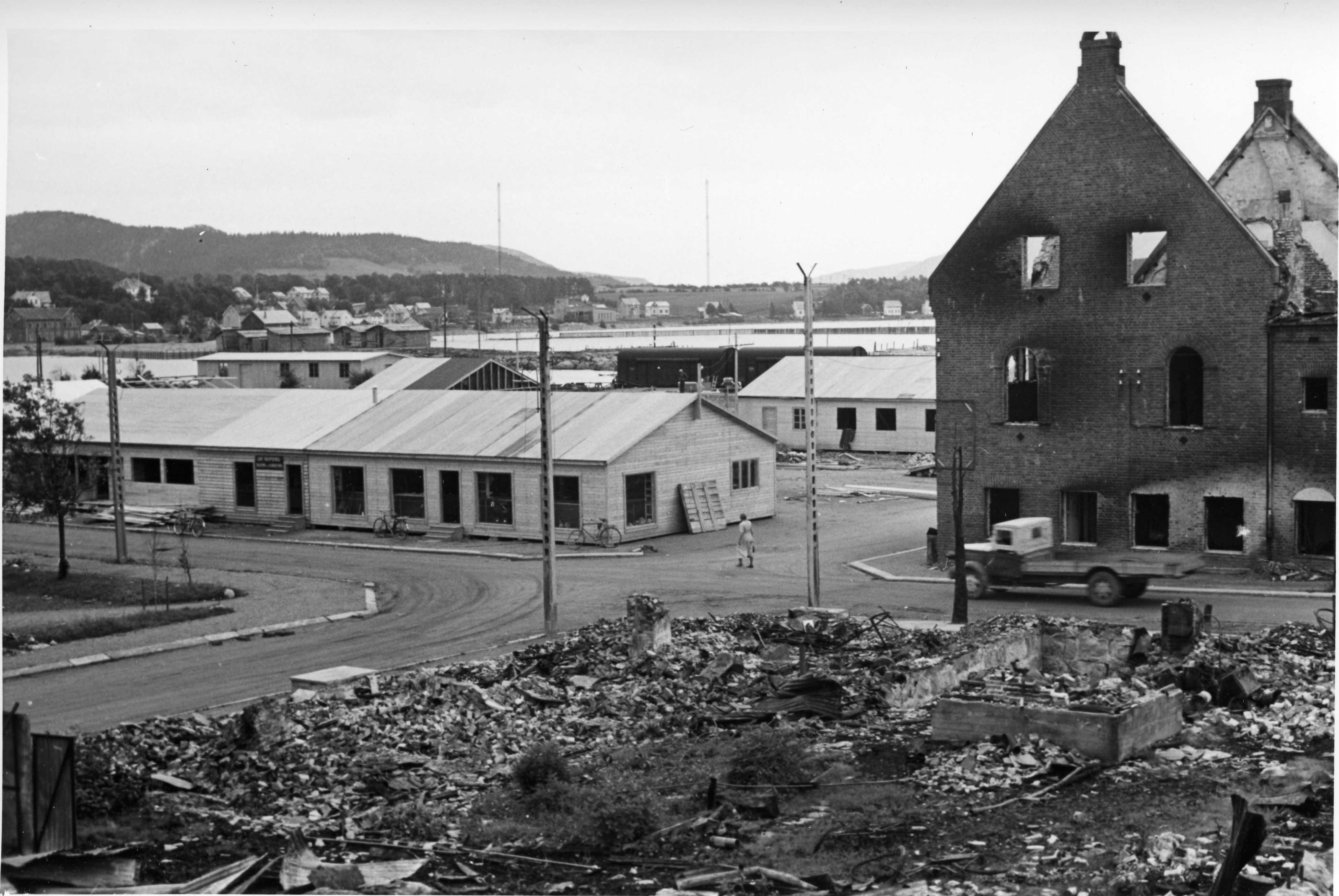 Bombingen av Namsos
