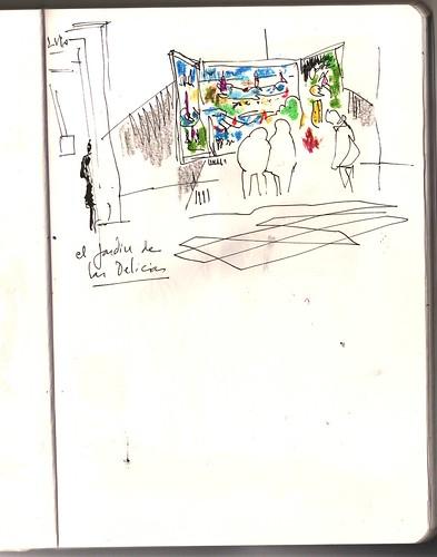 el Prado Madrid. El jardín de las delicias