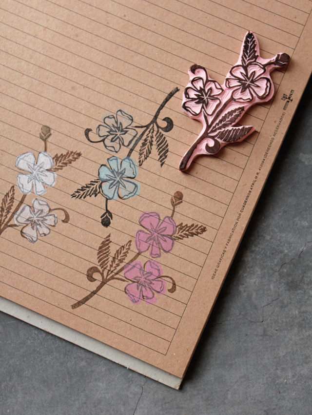 Little bloom stamp