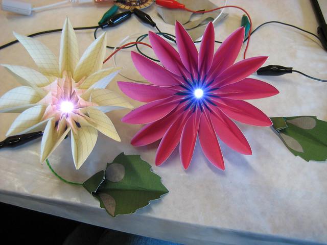 Blooming Paper Flowers Jie Qi