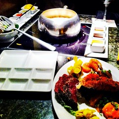 "(spotted Big Night Out ""America"" - Fondue Fusion on @Foodspotting)"